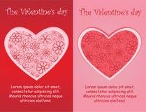 Les jours de Valentine Photographie stock