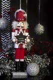 Les jours labourent le casse-noix de Noël photographie stock