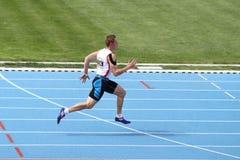 Les juniors d'athlétisme d'ECCC groupent A Photo libre de droits