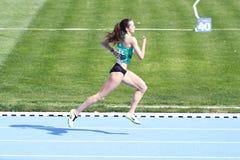 Les juniors d'athlétisme d'ECCC groupent A Photos libres de droits