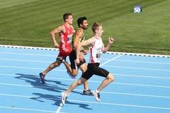 Les juniors d'athlétisme d'ECCC groupent A Image libre de droits