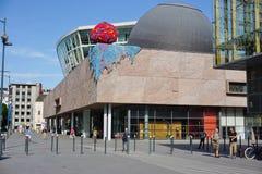 Les kaut Bibliothek und Museum Libres in Rennes, Frankreich stockbild