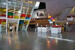Les kaut Bibliothek und Museum Libres in Rennes, Frankreich lizenzfreie stockbilder