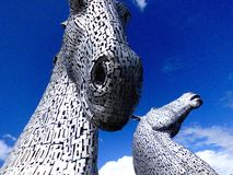 Les Kelpies Image stock