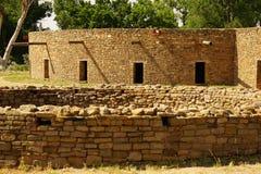 Les kiva au monument national aztèque Photos stock