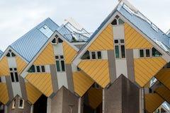 Les Kubus-bâtiments Rotterdam Photos libres de droits