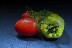 Les légumes savoureux Photographie stock