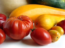 Les légumes se ferment vers le haut Photographie stock libre de droits