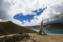Les lacs de plateau du Qinghai-Thibet Image stock