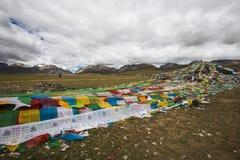 Les lacs de plateau du Qinghai-Thibet Images libres de droits