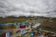Les lacs de plateau du Qinghai-Thibet Photographie stock