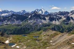Les lacs Gardioles images stock
