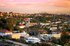 Les lacunes, compartiment de Watson, Sydney Images libres de droits