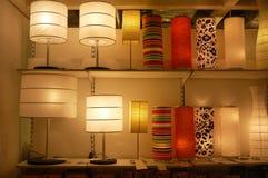 Les lampes Images libres de droits