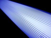 Les lampes fluorescentes peintes de plafond. photographie stock