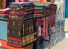 Les Laotiens de sarongs Photographie stock