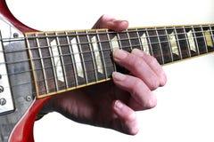 Les leçons de guitare sont bonnes ! Photo libre de droits