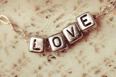 Les lettres d'amour Photo libre de droits