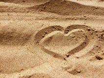 Les lettres d'amour et chante Photo libre de droits