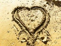 Les lettres d'amour et chante Photographie stock libre de droits