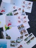 Les lettres de Thaïlande photographie stock