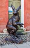 Les lièvres - symbole de l'île de lièvres de Zayachy Images stock