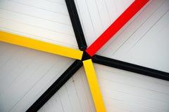 Les lignes abstraites modèlent le fond Photographie stock libre de droits