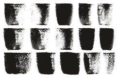 Les lignes audacieuses lignes et fond élevés de rouleau de peinture de vecteur d'abrégé sur détail ont placé 87 illustration libre de droits