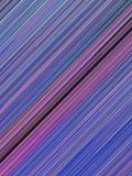 Les lignes bleues de Digital et rouges diagonales soustraient le fond rendu 3d Photographie stock libre de droits