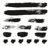 Les lignes fond élevé de pinceau de vecteur d'abrégé sur détail ont placé 87 illustration de vecteur