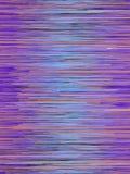 Les lignes rouges de Digital et bleues horizontales soustraient le fond rendu 3d illustration de vecteur