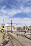 Les lions jettent un pont sur à Sofia Photos libres de droits