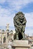 Les lions jettent un pont sur à Sofia Photographie stock