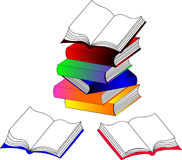 Les livres Photo stock