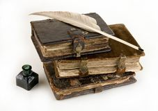 Les livres antiques Image libre de droits