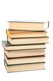 les livres de fond ont isolé le blanc Photo libre de droits