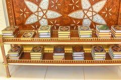 Les livres de Quran Photographie stock libre de droits