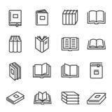 Les livres empaquettent la littérature imprimée pour la lecture et l'étude illustration stock