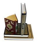 Les livres grands de Quran Images libres de droits
