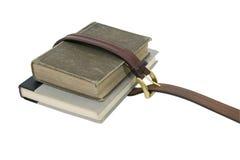 les livres instruisent attaché Photos libres de droits