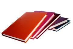 les livres ont isolé le blanc Photos stock