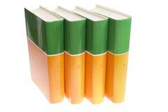 les livres ont isolé le blanc Photographie stock libre de droits