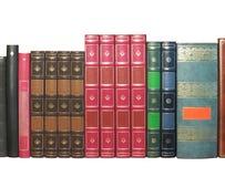 les livres ont isolé vieux Image libre de droits