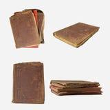 les livres ont isolé vieux Photo libre de droits