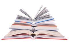 les livres s'ouvrent Images stock