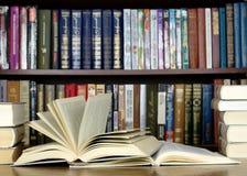 les livres se sont ouverts Photos libres de droits