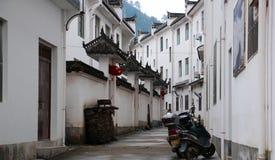 Les logements de petite ville avec des caractéristiques de Jiangnan en Chine photographie stock libre de droits
