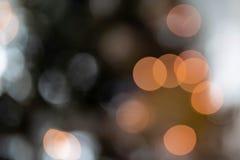 Les lumières de Bokeh détaillent photo libre de droits