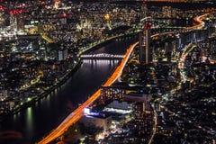 Les lumières de ville photos libres de droits