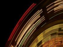 Les lumières du grand huit photo libre de droits